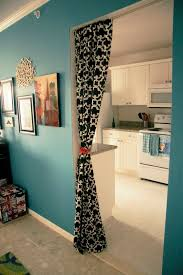 Office Partition Curtains Black White Patterned Bedroom Divider Curtains Combined White