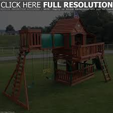 Wooden Backyard Playsets Backyard Discovery Woodridge Ii All Cedar Playset The Pics On