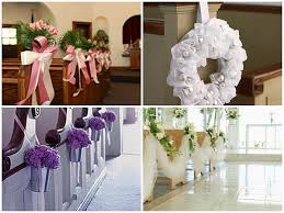 Wedding Decorations For Church Chirch Decoration Pew Decorations Ideas For Church Wedding Ideas