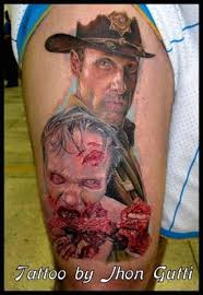 15 walking dead tattoos worthy of a zombie bite page 3