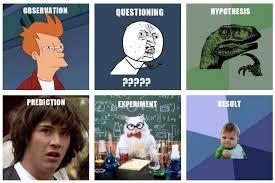 Science Meme - the scientific method meme version