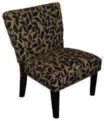 Oversized Accent Chair Oversize Accent Chair Brown Flock Transitional Armchairs And