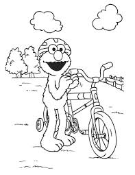 coloring pages elmo funycoloring