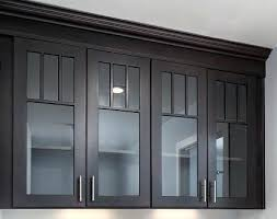 black cabinet with glass doors cabinet glass inserts how to install glass into your kitchen