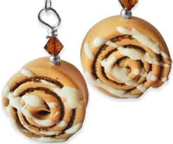 cinnamon bun earrings cinnamon bun earrings buy this bling