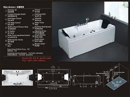 Size Bathtub Big Bathtub Size Walk In Bathtub For Hs 272 In Bathtubs