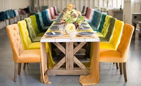 rental companies for tables and chairs la tavola fine linen rental assorted velvet table runners