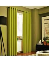 Lime Green Blackout Curtains Christmas Savings On Hotel Drapes