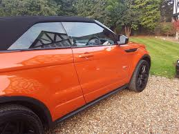 orange range rover used land rover range rover evoque convertible 2 0 td4 hse dynamic