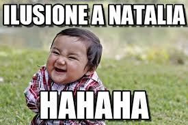 Natalia Meme - ilusione a natalia evil kid meme on memegen