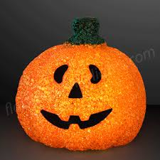 light up pumpkins for halloween light up happy pumpkin decoration by flashingblinkylights com