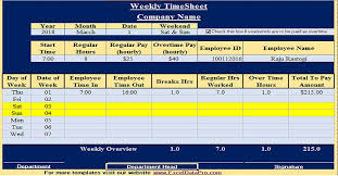 how to make a timesheet in excel download free hr templates in excel