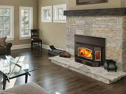 installing a wood burning fireplace insert binhminh decoration