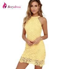 chic dress a berydress womens chic halter neck sleeveless sheath