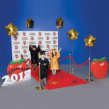 preschool graduation decorations preschool apple walk of fame complete prop set s