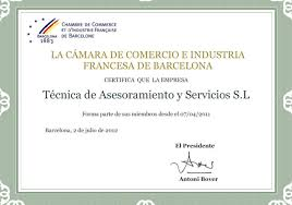 chambre de commerce adresse chambre de commerce et d industrie française à barcelone