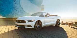 Black Mustang Convertable 2015 Ford Mustang Convertible Looks Flashy In Oxford Black And