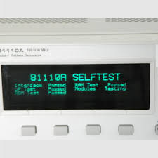pattern generator keysight hp agilent 81110a calibrated pulse pattern generator with 2 of