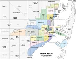 Map Of West Florida by File Miami Neighborhoodsmap Png Wikimedia Commons