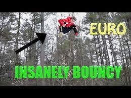 Best Backyard Trampoline worlds best backyard trampoline euro youtube