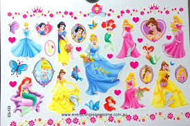 everything is awesome disney princesses cg 123 temporary tattoo