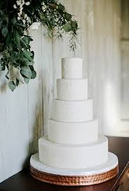 all white wedding cakes brides