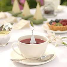 tea cup favors tea sachets tea wedding favors by tea forte