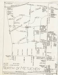 Map Of Middlesex County Nj From The Archives Metuchen Edison Historical Society