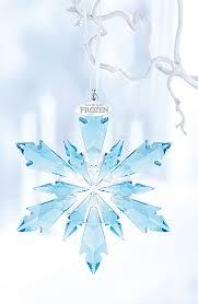 swarovski disney frozen snowflake ornament blair s
