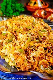 rice cuisine lubia polo green bean rice
