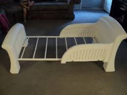 Toddler Sleigh Bed White Plastic Toddler Bed Cosco White Plastic Toddler Bed
