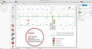 Fire Evacuation Plan Office by Fire And Emergency Plans Solution Conceptdraw Com