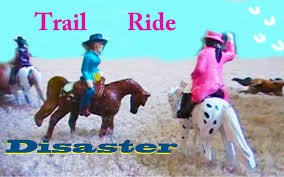 minnie whinnies trail ride disaster part 1 breyer mini whinnies
