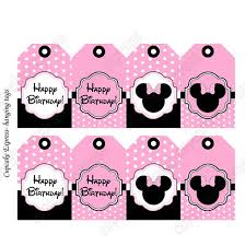 441 disney minnie u0026 mickey mouse printable birthday party