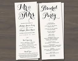 folded wedding program 85 best order of service images on wedding stationery