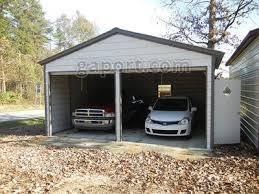 Double Car Garage | metal garage two car 2