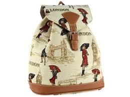 rucksack design signare tapestry rucksack backpack fashion bag in miss