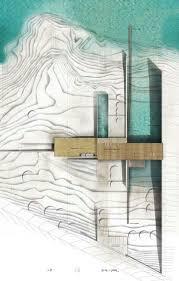 bureau d architecture li鑒e 44 best 表現 images on architecture drawings