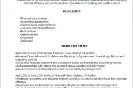 Quality Auditor Resume Internal Auditor Resume Best Template Collection Quality Auditor
