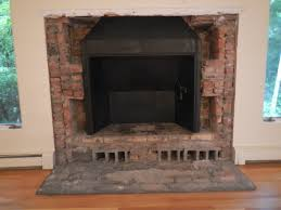 stone fireplace hearth u2014 office and bedroom