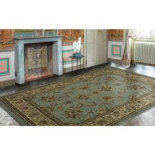 8x10 area rugs home depot ottomanson traditional oriental light blue 7 ft 10 in x 9 ft 10
