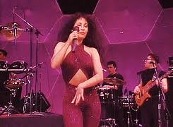 selena quintanilla purple jumpsuit costume demi lovato pays homage to selena quintanilla while on tour vivala