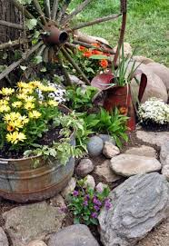 Country Backyard Landscaping Ideas by Best 25 Country Garden Decorations Ideas On Pinterest Rustic