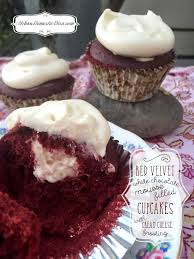 recipe red velvet cupcakes with white chocolate mousse filling