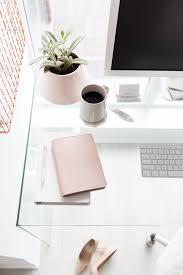 Work Desk Ideas Best 25 Glass Desk Ideas On Pinterest Glass Office Desk Clear