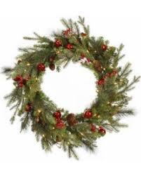 bargains on vickerman 24 lighted artificial fir wreath