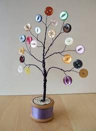the 25 best button crafts ideas on pinterest button tree