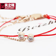 rose gold rope bracelet images China single string bracelet china single string bracelet jpg