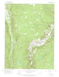 Colorado River On A Map by Poudre River Canyon Colorado