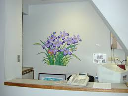 foundation for hospital art wall murals the artwork wall murals are drawn and color coded on site at hospital paintfest events mouse over small images to enlarge